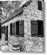 Slave House Metal Print by John Rizzuto