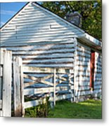 Slave Huts On Southern Farm Metal Print
