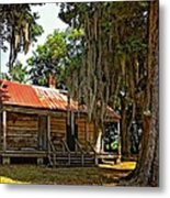 Slave Quarters Metal Print by Steve Harrington