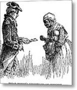 Slavery: Manumission, 1777 Metal Print by Granger