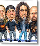 Slayer Metal Print
