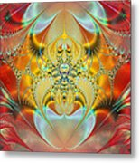 Sleeping Genie Metal Print