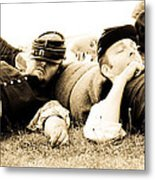 Sleeping Soldiers Metal Print