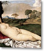 Sleeping Venus Metal Print
