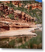 Slide Rock State Park Metal Print