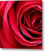 Slimline Red Metal Print