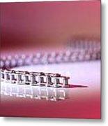 Slithering Chain Metal Print