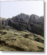 Slope Of Hills In The Scottish Highlands Metal Print