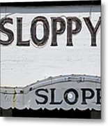 Sloppy Joes Key West Metal Print
