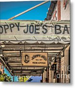 Sloppy Joe's Bar Canopy Key West - Hdr Style Metal Print