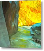 Slot Canyon Metal Print