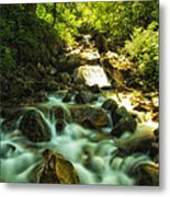 Slow Moving River Metal Print