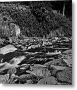 Slow River Metal Print