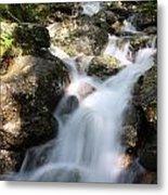 Slow Shutter Waterfall Scotland Metal Print