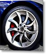Slr Wheel Metal Print