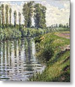 Small Branch Of The Seine At Argenteuil Metal Print