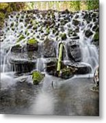 Small Cascade In Marlay Park Metal Print