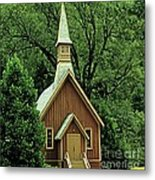 Small Chapel  Metal Print