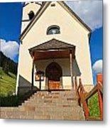 small church in Penia Metal Print