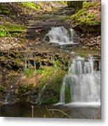 Small Falls At Parfrey's Glen Metal Print