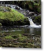 Small Falls On West Beaver Creek Metal Print
