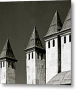 The Small Minarets Metal Print