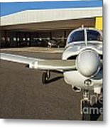 Small Planes In Private Airport Metal Print