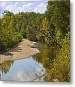 Small River 1 Metal Print