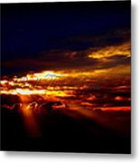 Small Roll Tide In The Distance Metal Print