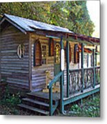 Small Shop In Horseshoe Metal Print