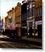 Small Town 2 Metal Print