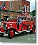 Small Town Fourth Of July Metal Print
