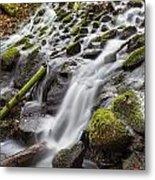Small Waterfalls In Marlay Park Metal Print