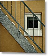 Small Window Metal Print