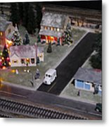 Small World - A Smalltown Holiday Metal Print