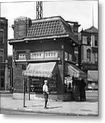 Smallest Store In The World Metal Print