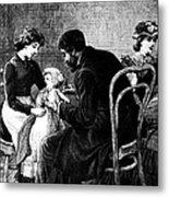 Smallpox Vaccination, 1883 Metal Print