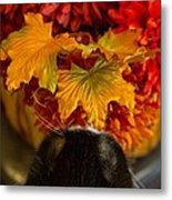 Smelling The Roses Or Something Like That Metal Print