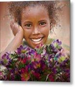 Smile 2 Metal Print by Kume Bryant