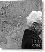 Smile Does Not Age Metal Print