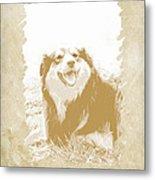 Smile II Metal Print by Ann Powell