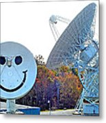 Smiley And 26 West Antennas Metal Print