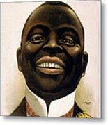 Smiling African American Circa 1900 Metal Print