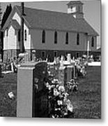 Smith Island Church Metal Print
