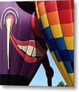 Smitten Hot Air Balloon Metal Print