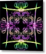 Smoke Art 34 Metal Print