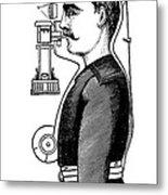 Smoke Hood, 1880s Metal Print