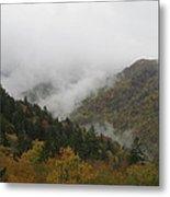 Smoke On The Mountains Metal Print