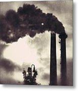 Smoke Stack Metal Print