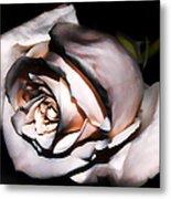 Smoked Rose Metal Print